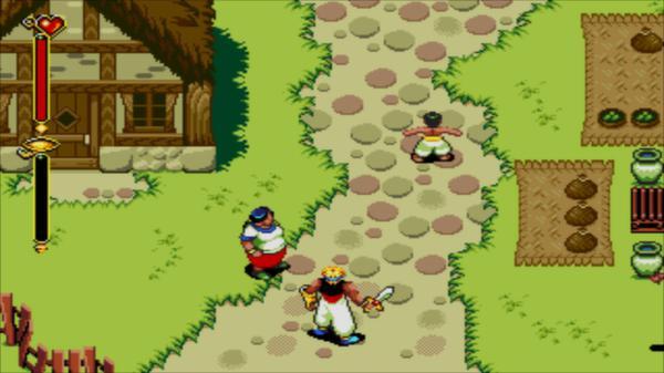 скриншот Beyond Oasis 2