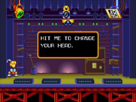 скриншот Dynamite Headdy 1