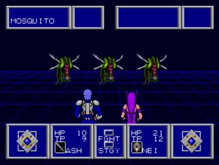 скриншот Phantasy Star II 1