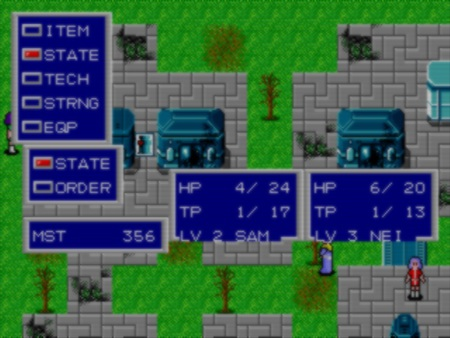 скриншот Phantasy Star II 0