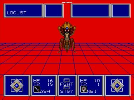 скриншот Phantasy Star II 4