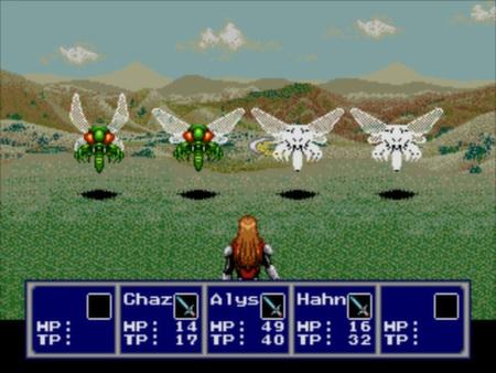 скриншот Phantasy Star IV: The End of the Millennium 2