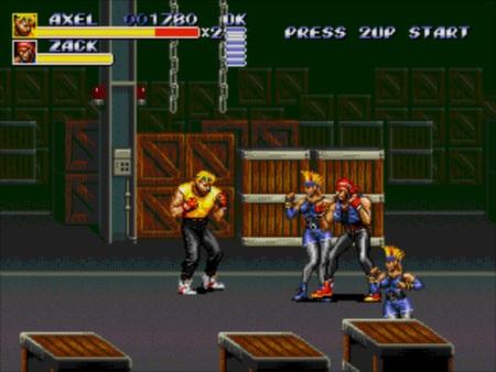 скриншот Streets of Rage 3 2