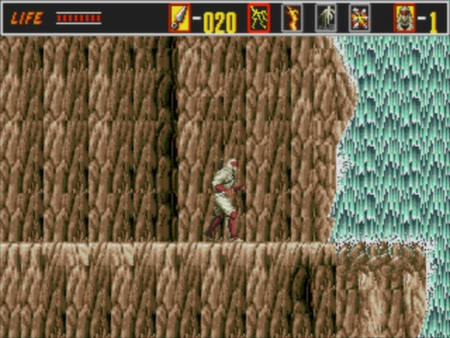 скриншот Revenge of the Shinobi 3