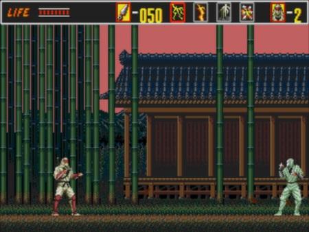 скриншот Revenge of the Shinobi 1