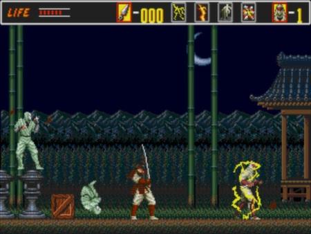 скриншот Revenge of the Shinobi 2