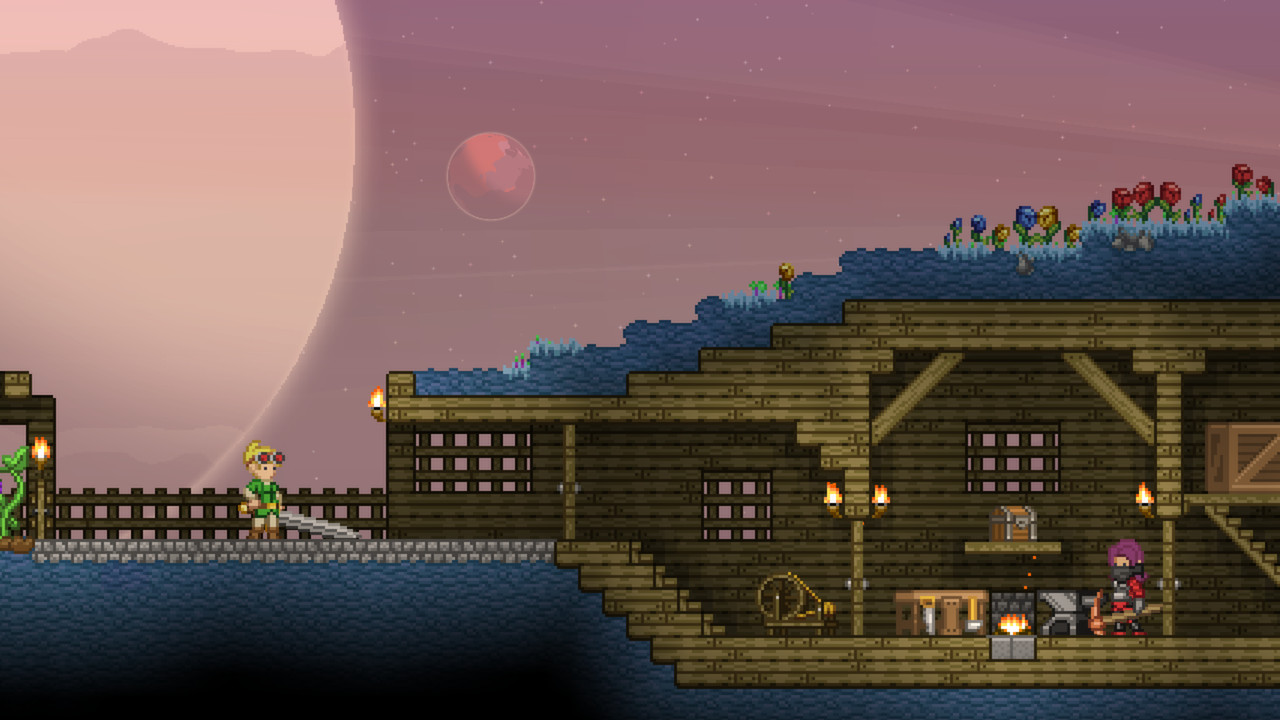 How To Build In Starbound