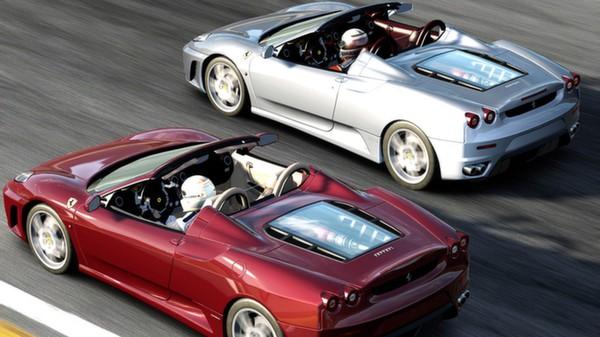 Скриншот №1 к Test Drive Ferrari Racing Legends