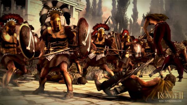 Скриншот №2 к Total War ROME II - Greek States Culture Pack