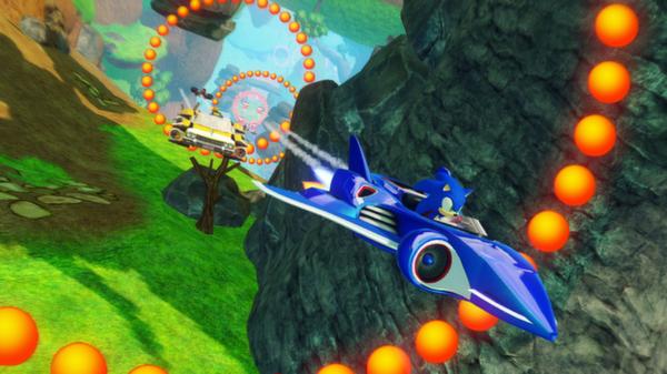 Скриншот №10 к Sonic  All-Stars Racing Transformed Collection