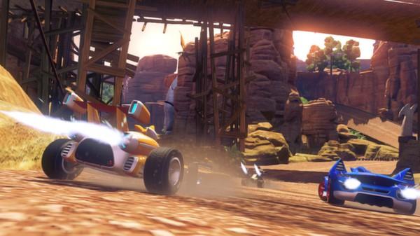 Скриншот №6 к Sonic  All-Stars Racing Transformed Collection