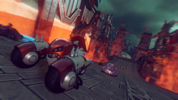 Скриншот №14 к Sonic  All-Stars Racing Transformed Collection