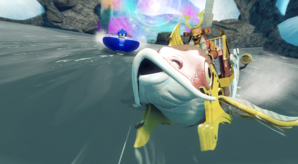 Скриншот №2 к Sonic  All-Stars Racing Transformed Collection