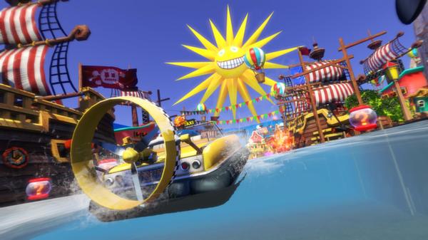 Скриншот №9 к Sonic  All-Stars Racing Transformed Collection