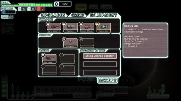 FTL: Faster Than Light скриншот
