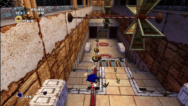 Скриншот №3 к Sonic Adventure 2