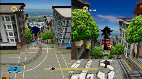 Sonic Adventure 2 скриншот