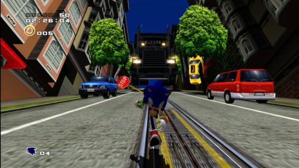 Скриншот №1 к Sonic Adventure 2