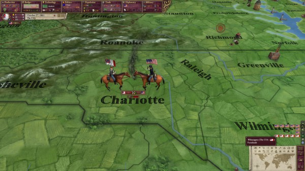 скриншот Victoria II: A House Divided - American Civil War Spritepack 3