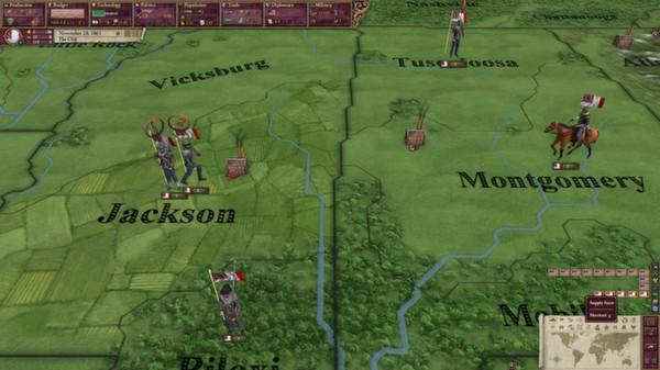 скриншот Victoria II: A House Divided - American Civil War Spritepack 4