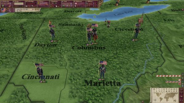 скриншот Victoria II: A House Divided - American Civil War Spritepack 1