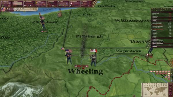 скриншот Victoria II: A House Divided - American Civil War Spritepack 0