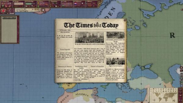 скриншот Victoria II: Heart of Darkness 2
