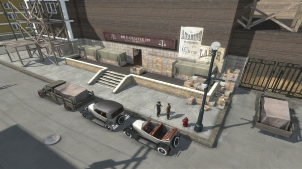 скриншот Omerta - City of Gangsters - The Con Artist DLC 4