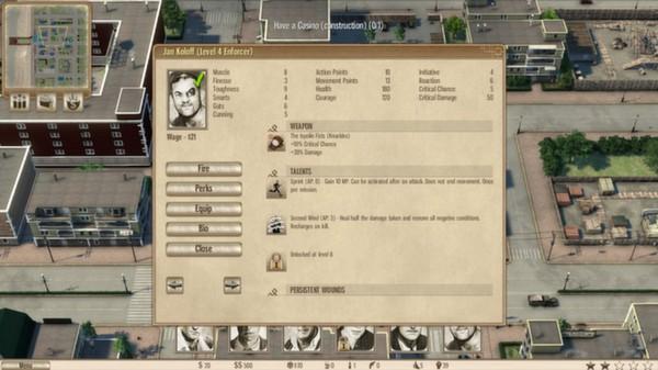 скриншот Omerta - City of Gangsters - The Bulgarian Colossus DLC 2