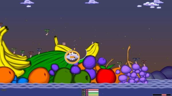 Worms Armageddon скриншот