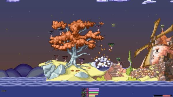 Скриншот №7 к Worms Armageddon