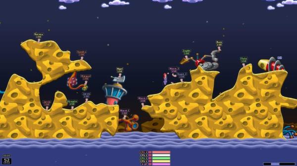 Скриншот №1 к Worms Armageddon