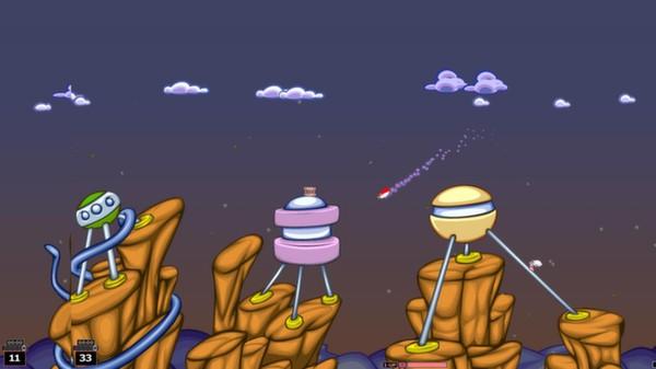 Скриншот №5 к Worms Armageddon