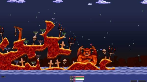 Скриншот №6 к Worms Armageddon