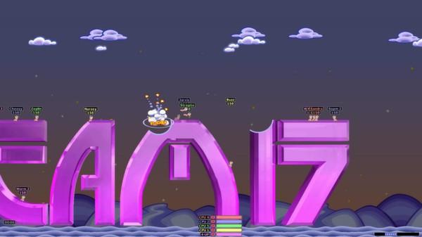 Скриншот №4 к Worms Armageddon