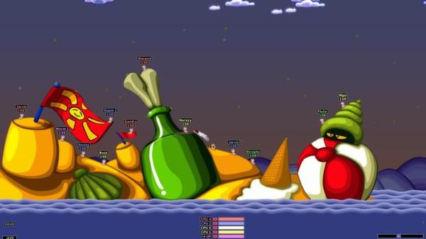 Скриншот №2 к Worms Armageddon