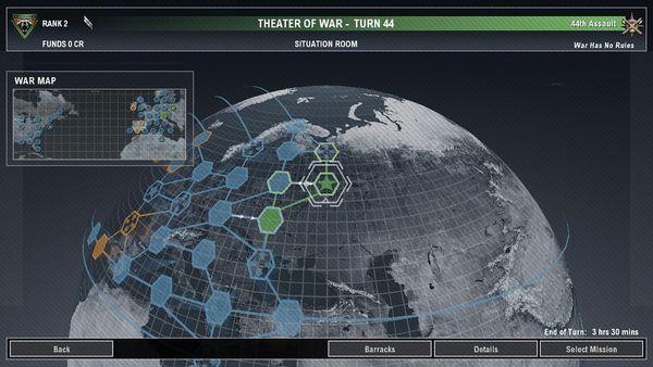 Скриншот №1 к Tom Clancys EndWar™