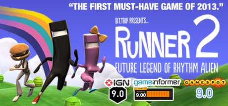 BIT.TRIP Presents... Runner2: Future Legend of Rhythm Alien Cover Image