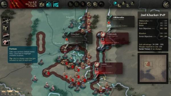скриншот Unity of Command: Stalingrad Campaign 5