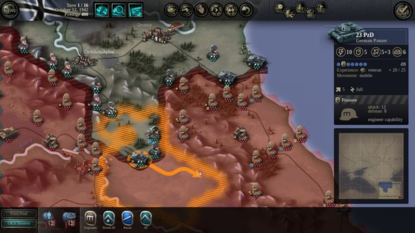 скриншот Unity of Command: Stalingrad Campaign 0