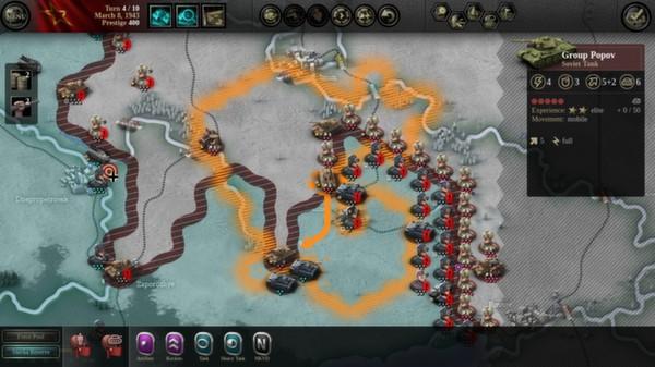 скриншот Unity of Command: Stalingrad Campaign 2