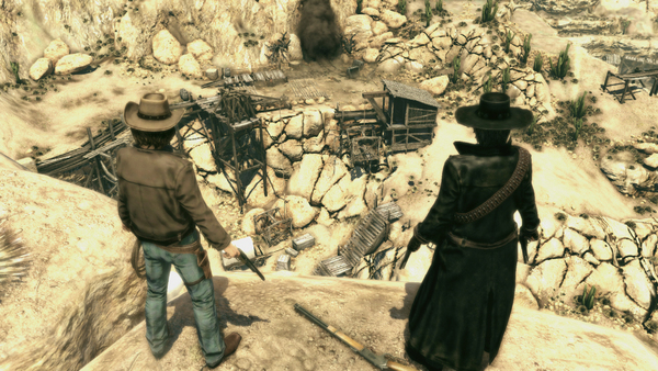 Скриншот №3 к Call of Juarez Bound in Blood
