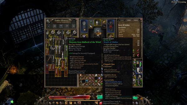 Grim Dawn скриншот