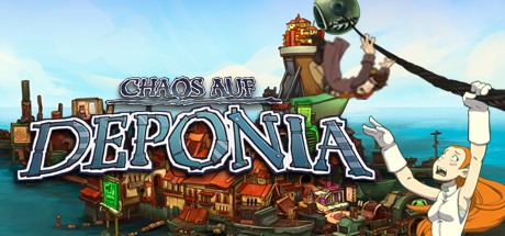 Game Banner Chaos on Deponia