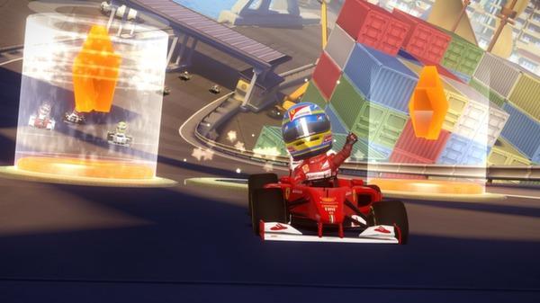 скриншот F1 Race Stars - Europe Track DLC 0