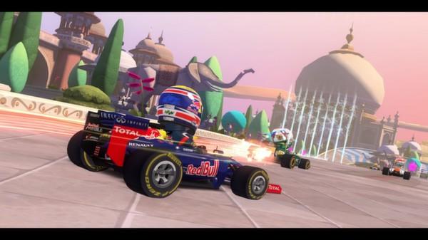 скриншот F1 Race Stars - India Track 1