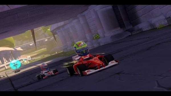 скриншот F1 Race Stars - India Track 3