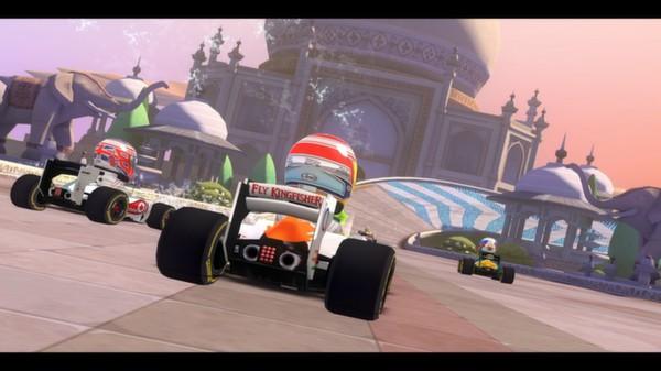 скриншот F1 Race Stars - India Track 0