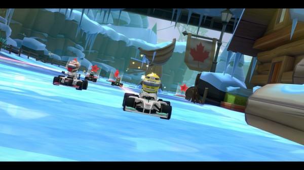 скриншот F1 Race Stars - Canada Track 0