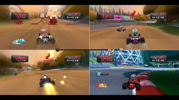 скриншот F1 Race Stars - Canada Track 4